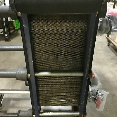 Ameridex Adx-22-87 Plate Heat Exchanger 87 Plates 75 Gpm 133812 Btuh 219ft