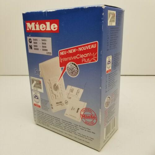 Miele Type G, N  5 Vacuum Cleaner Bags 05588941 1 Motor Filter