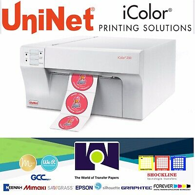 iColor 200 Inkjet Color Label Printer by Uninet Color Inkjet Label Printer