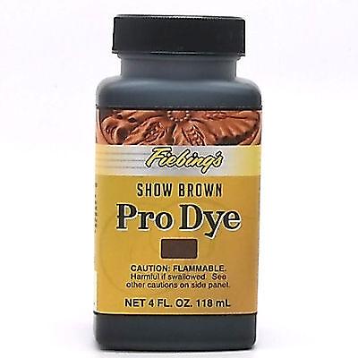 Fiebing's Professional Oil Dye Show Brown 4 oz (118 mL) 2110-14 LDPR*04Z