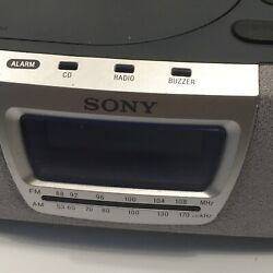 Sony Dream Machine Alarm Clock Radio CD Player (ICF-CD830) TESTED WORKS
