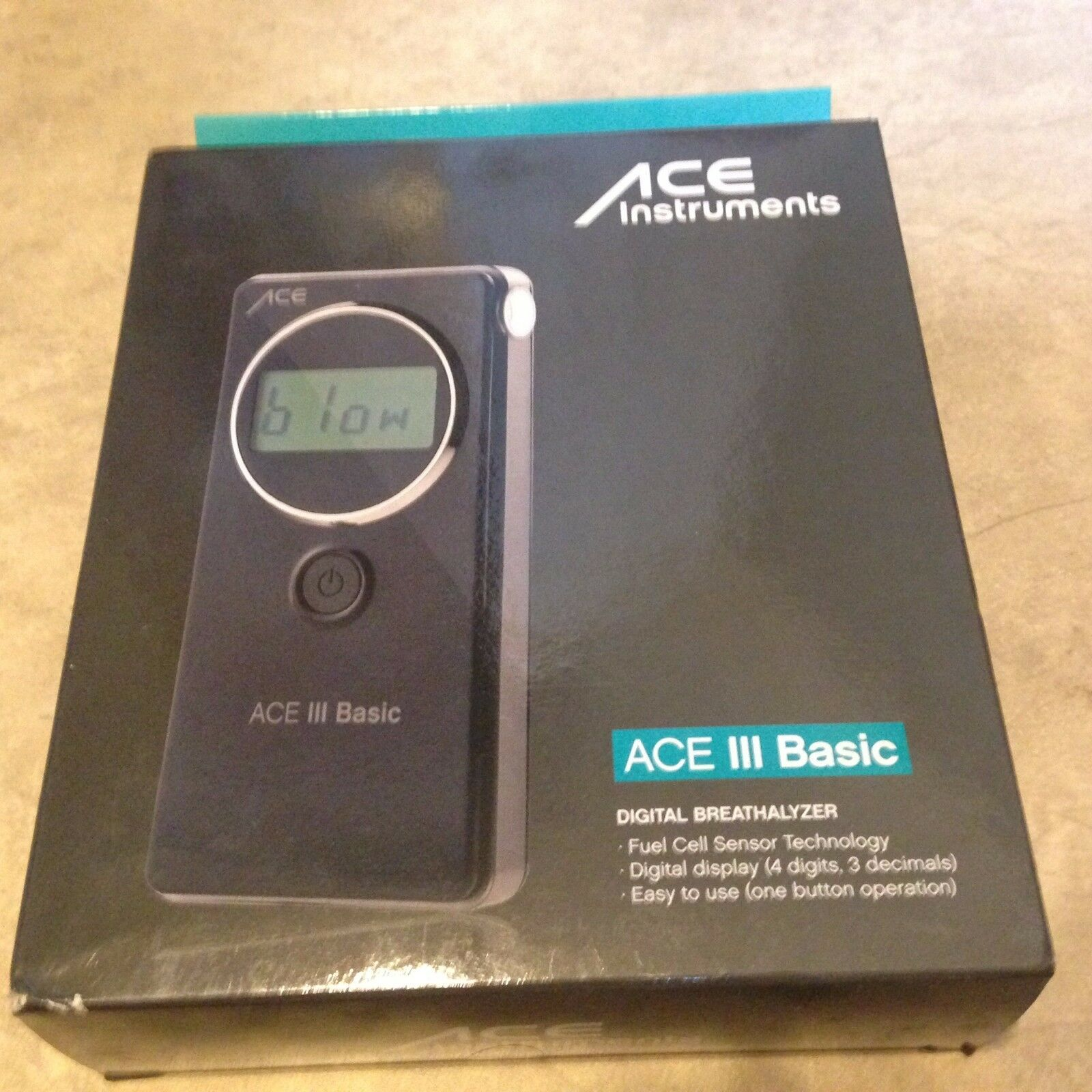 ACE III Basic Professional Digital Display Breathalyzer NEW factory sealed