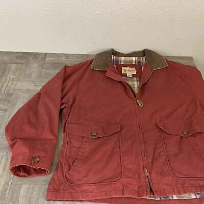 Woolrich Original Outdoor Clothing, Parka Coat Jacket with Plaid lining, Size XL