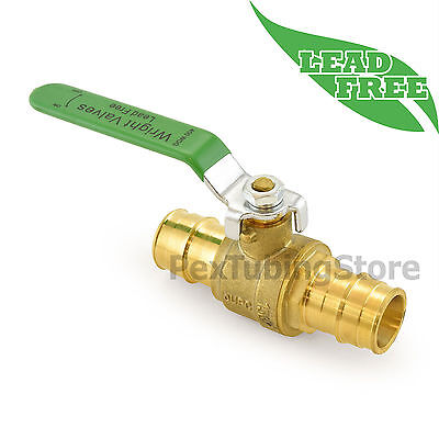 1 Propex Expansion Lead-free Brass Ball Valve For Pex-a F1960 Full Port