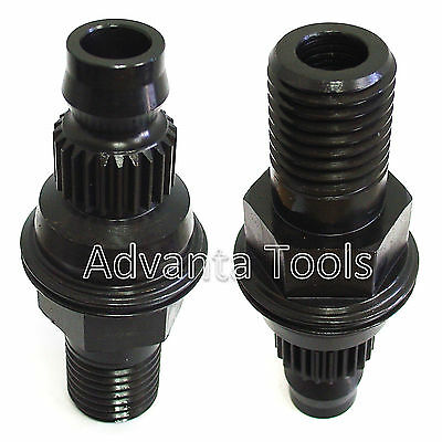 2pk Core Drill Adapter - Convert Hilti Bu Chuck To 1-14-7 Male Threads Bs