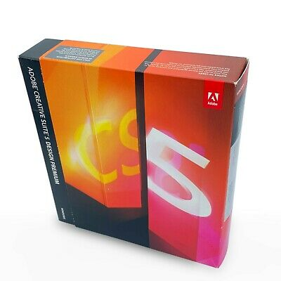 Adobe Creative Suite 5 CS5 Design Premium Windows UPGRADE Genuine