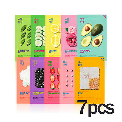 Holika Holika Pure Essence Mask Sheet 7pcs