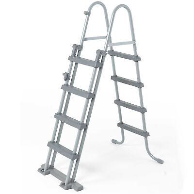 Bestway 58331 Poolleiter Einstieg Leiter Sicherheitsleiter Treppe 122cm #3610