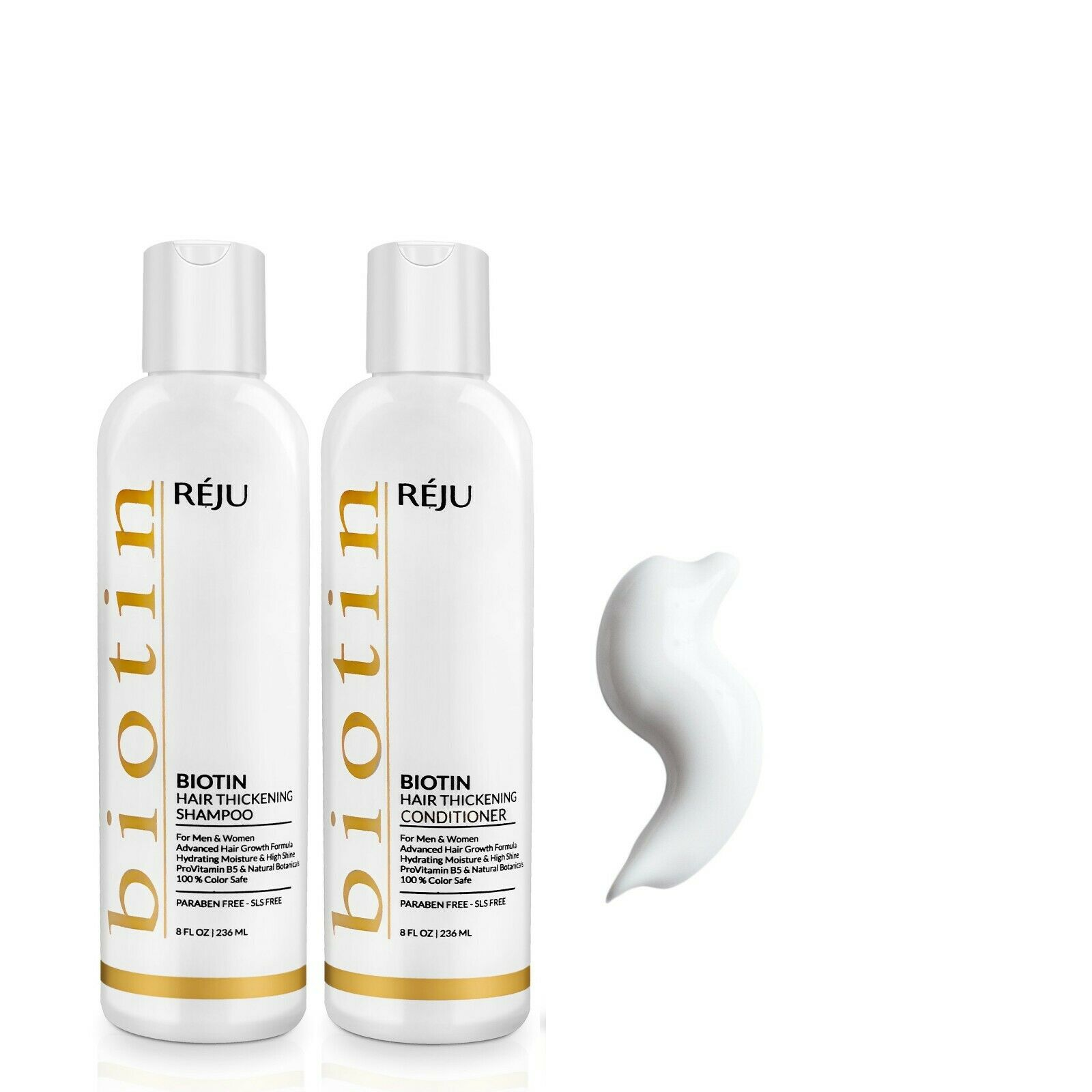 Natural Biotin Shampoo & Conditioner For Hair Growth & Hair