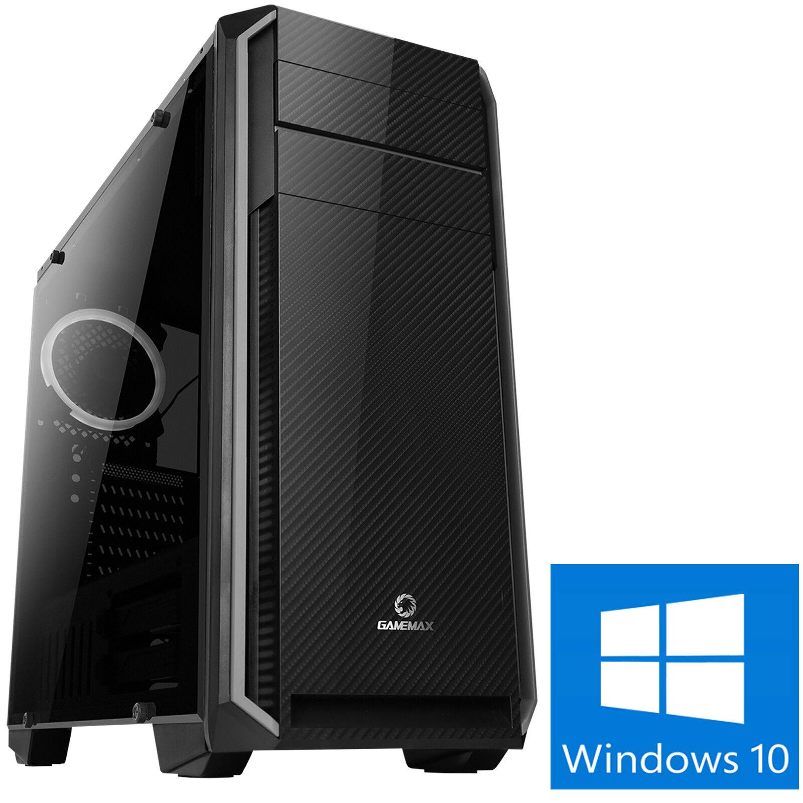 Computer Games - OCHW Ultra Fast AMD Dual Core Radeon 16GB 1TB Gaming PC Computer Windows 10 CA