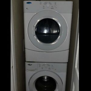 Whirlpool 27 inch wide washer and Dryer For Sale