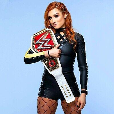 WWE BECKY LYNCH 8x10 COLOR PHOTO RAW - Womens Wwe Champion