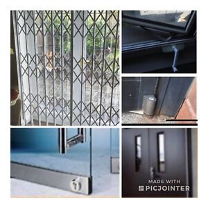Commercial doors and residential windows services