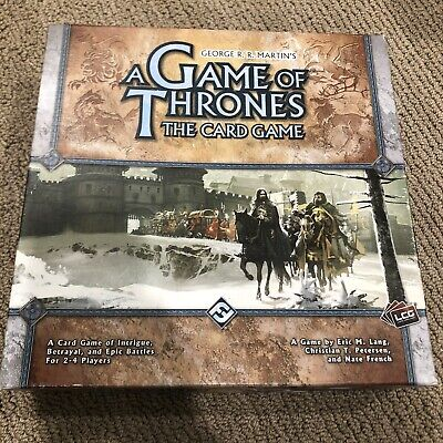 2008 A Game of Thrones Card Game Fantasy Flight Complete 1st Edition Core (Game Of Thrones Board Game 1st Edition)