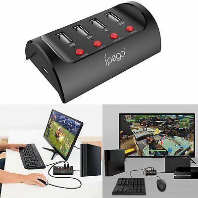 Tastatur Konverter Kabel (Tastatur &Maus Konverter Adapter +Ladekabel Für PS4 XBOX ONE NS Switch FPS Spiel)