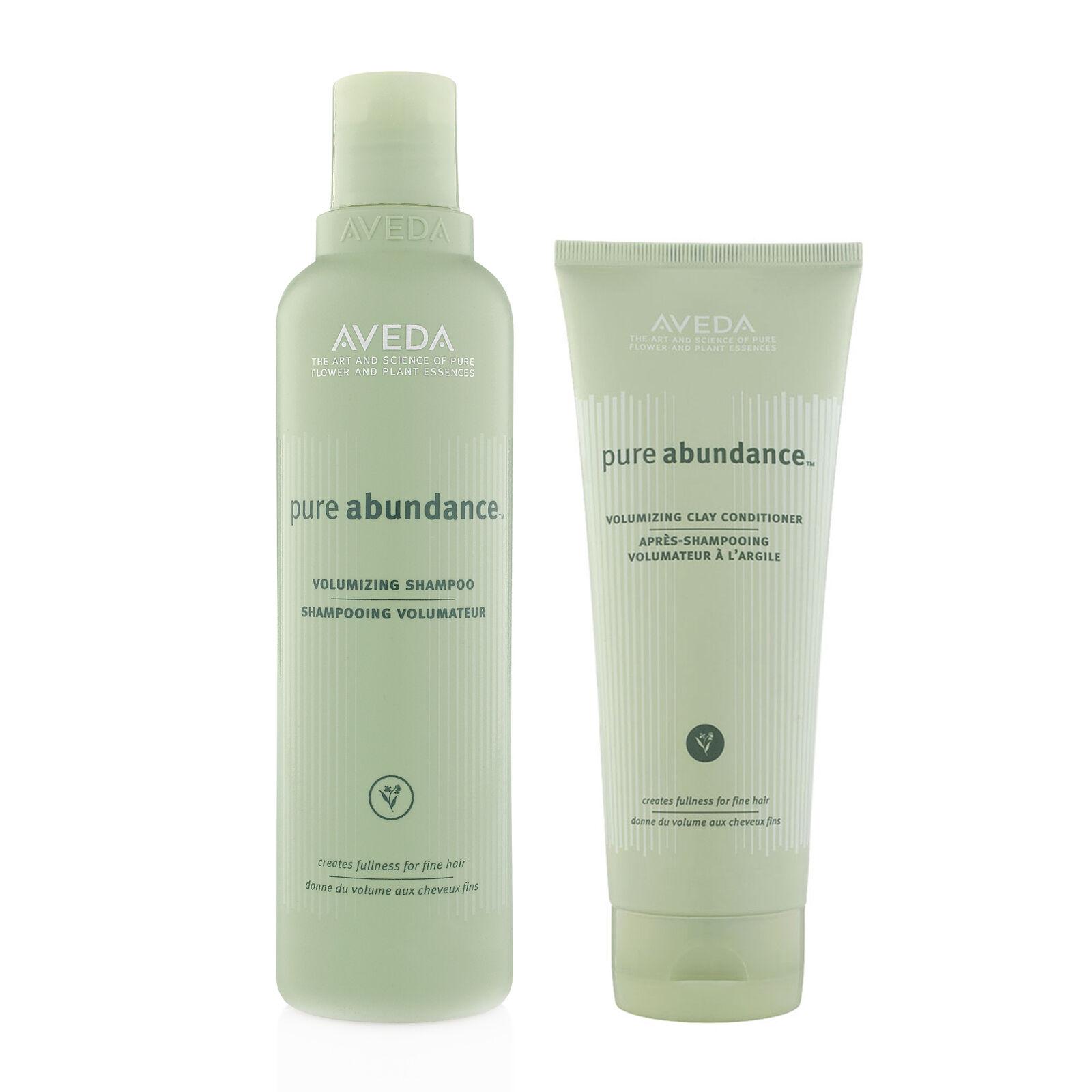 Aveda pure abundance volumizing shampoo and conditioner 8.5
