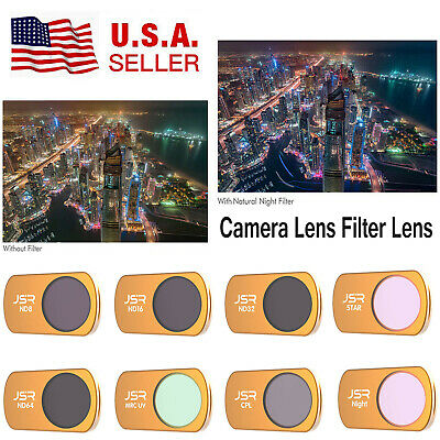 Camera Lens Protector UV Polarized CPL Dimming Filter For DJI Mavic Mini Drone