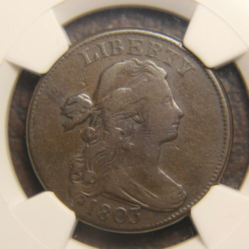 1803 Draped Bust Large Cent, S-230, Small Date, Small Fraction
