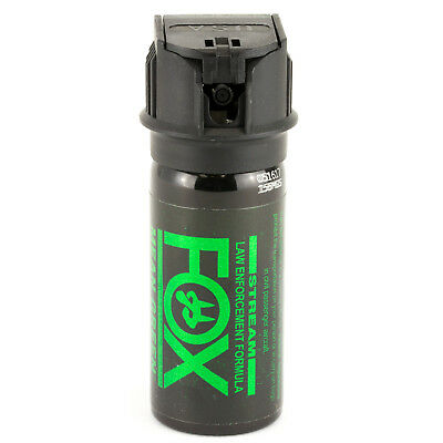 (PS Fox Labs Mean Green Tactical Police 1.5oz Flip-Top Stream Pepper Spray 156MGS)