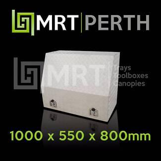 FULL OPENING ALUMINIUM TOOLBOX MRT20 – 1000mm x 550mm x 800mm