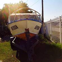 $1950 ALUMINIUM BOAT WITH TRAILER Canley Heights Fairfield Area Preview