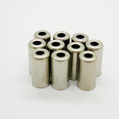 10x Topes para Funda de 5 mm para Cable Transmision Bicicleta y...