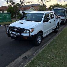 Toyota hilux 2008 sr5 upgrade turbo diesel 4door duel cab very clean Sefton Bankstown Area Preview
