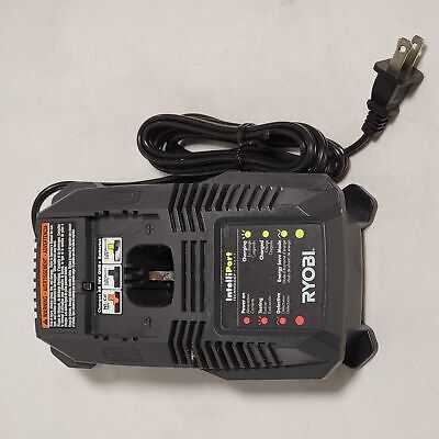 Ryobi P118 Lithium Ion Dual Chemistry Battery Charger for One+ 18 Volt Batteries
