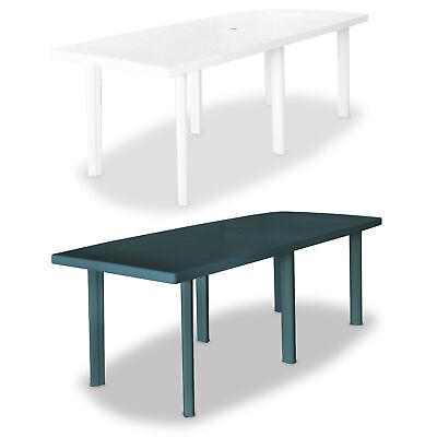 garden table 82 7 plastic outdoor dining