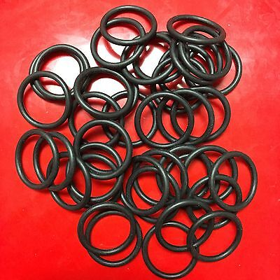(NEW CO2 & HPA Paintball Air Tank Valve O-Ring (015-70) - 50 Piece Set - Black)