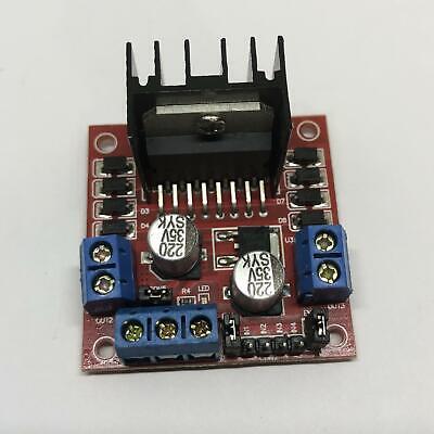 Dual H Bridge Dc Stepper Motor Drive Controller Board Module Arduino L298n Hg