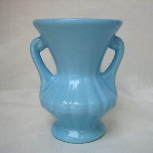 Vintage Camark Pottery USA Vase in Blue #426  ~ EXCELLENT!