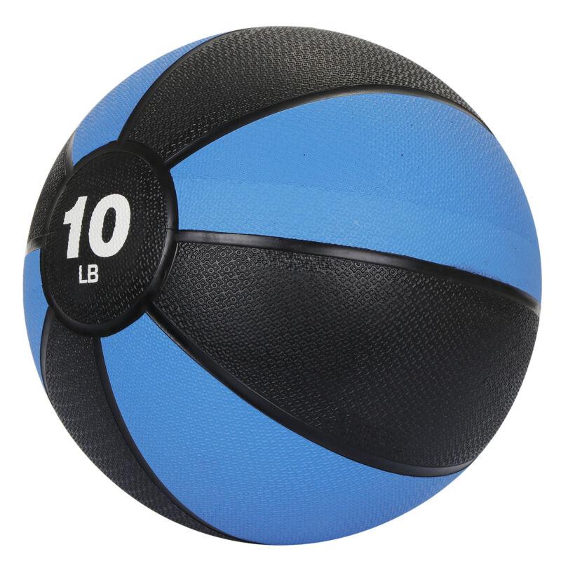 Sport Exercise  Medicine Ball for Home Gym Balance Stability Pilates 10lb Body
