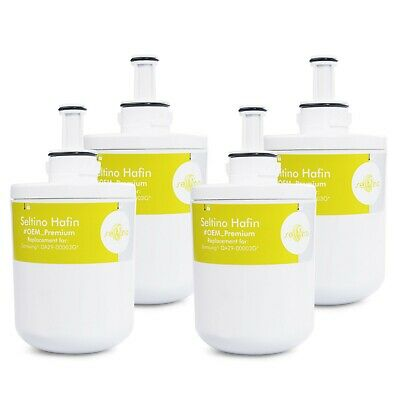 Aqua Plus Wasser-filter (4x Seltino Hafin Kühlschrank Filter für Samsung Aqua Pure PLUS DA29-00003G )