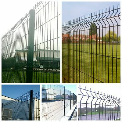 2.4m High (102m) V mesh profile perimeter security fencing (£13.84 per meter)