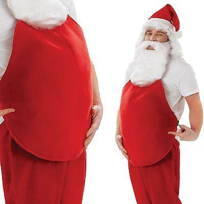 Weihnachtsmann Gepolstert Fett Bauch Füller Kostüm Zubehör - Fett Mann Kostüm