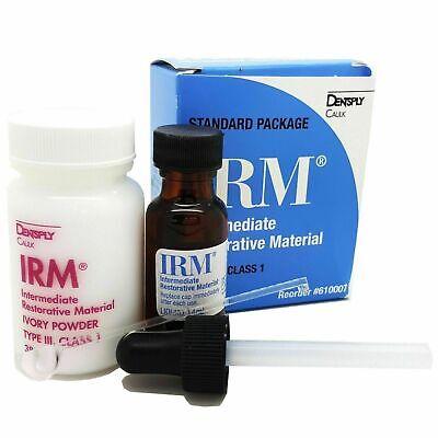 Irm Kit Powder 38g Liquid 14ml Standard Package Ivory Dentsply Dental 610007