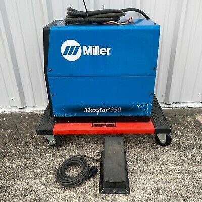Miller Maxstar 350 Electric Welder 907334