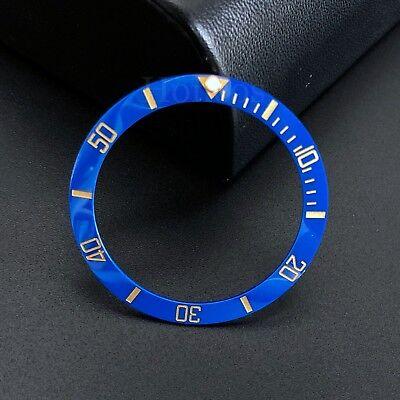 Blue and Gold Ceramic Bezel Insert to fits for Rolex Submariner 16610LN 16613V