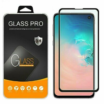 Samsung Galaxy S20 Ultra S10 Plus 10e 5G Full Tempered Glass Screen Protector Cell Phone Accessories