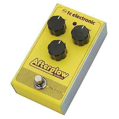 TC Electronic Afterglow Chorus Guitar Pedal