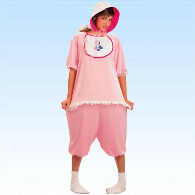 Kostüm Baby rosa M: Gr. 50-54, F: Gr. 38-42  Kind Babykostüm Eltern - Eltern Kostüm