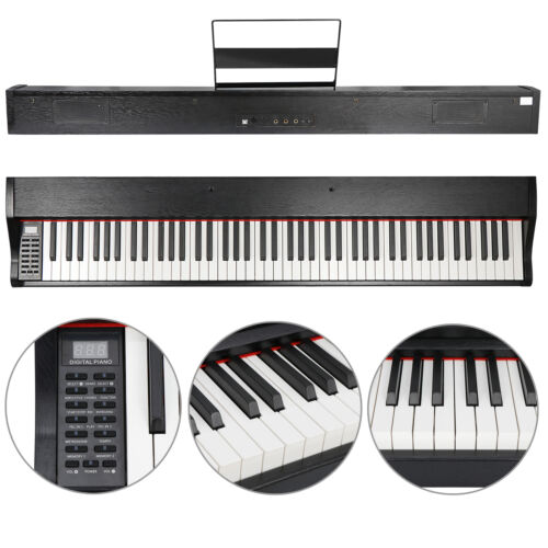 88 Key Beginner Digital Piano / Keyboard with Full Size Keys 5 Premium Voices Electronic Keyboards