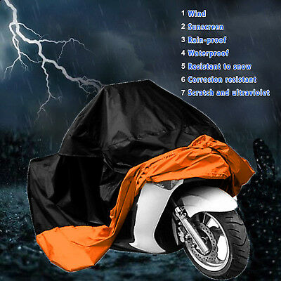 XXXXL Motorcycle Cover Waterproof For Harley Davidson Street Glide Touring