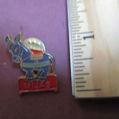Mijas Spain Donkey Burro Hat Pin Tie Tac Lapel Pinback