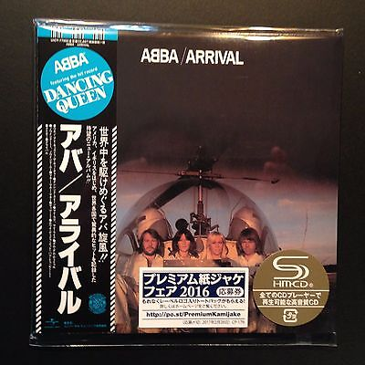 Arrival by ABBA (SHM-CD, 2016, Cardboard Sleeve, Mini-LP, LTD, Universal Japan)