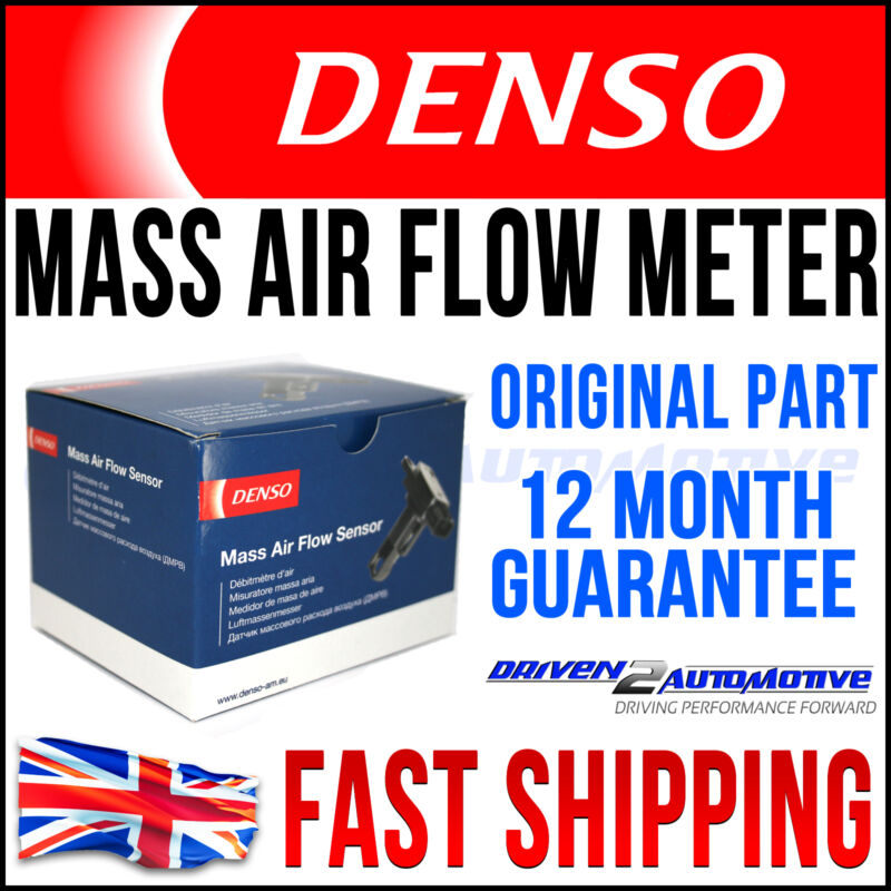 NEW DENSO MASS AIR FLOW METER TOYOTA AURIS 1.4 1.6 1.8 VVTi WORLDWIDE SHIPPING