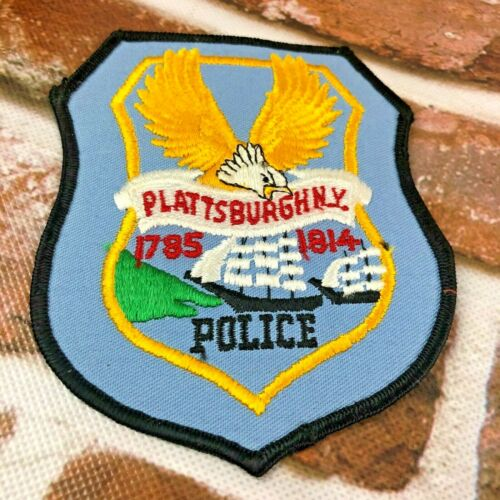 Plattsburgh New York Police Patch 1785-1814