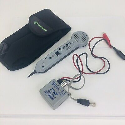 Greenlee Communications Tone Probe 200ep-g And 77hp-g Tone Generator Case