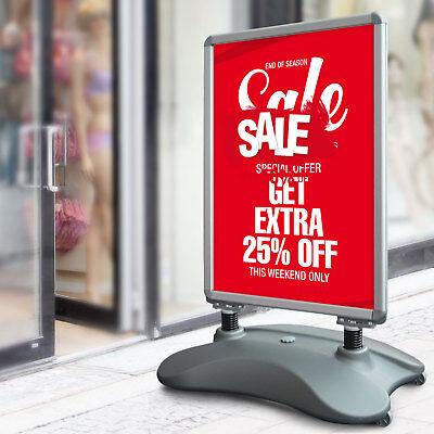 A1 Kundenstopper Plakatständer Werbetafel Werbeträger Gehwegaufsteller AUSSEN